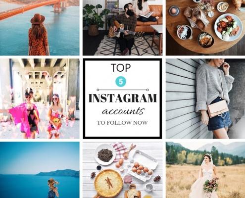 top 5 interior design accounts to follow