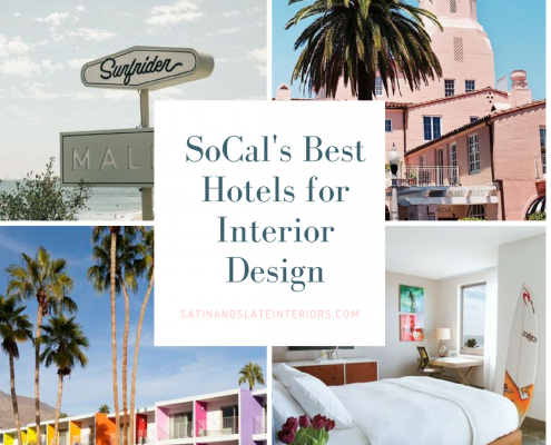 SoCal's Best Hotels for Interior Designers Cover