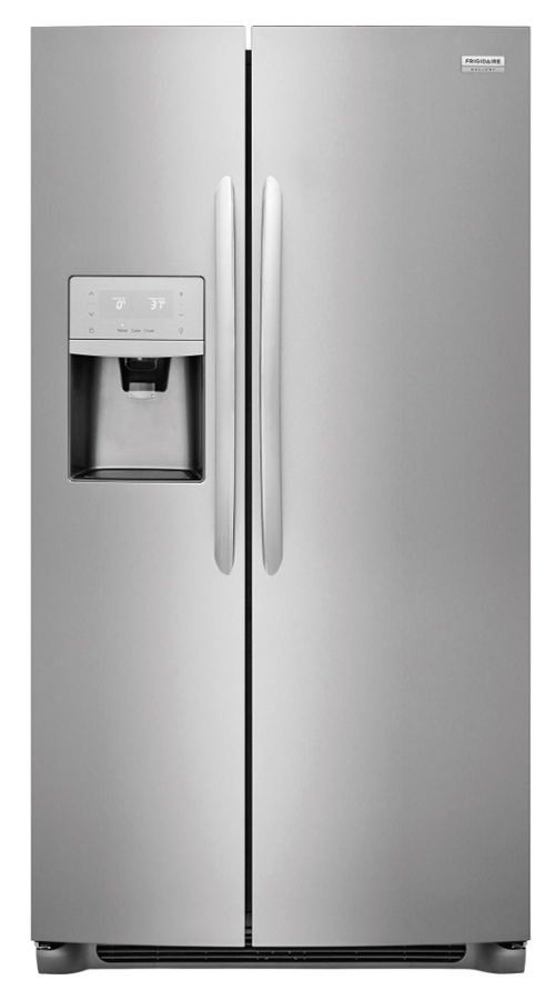 Frigidaire Gallery 22.1 cu. ft. Side by Side Refrigerator in Stainless Steel, Counter Depth (Model # FGSC2335TF)