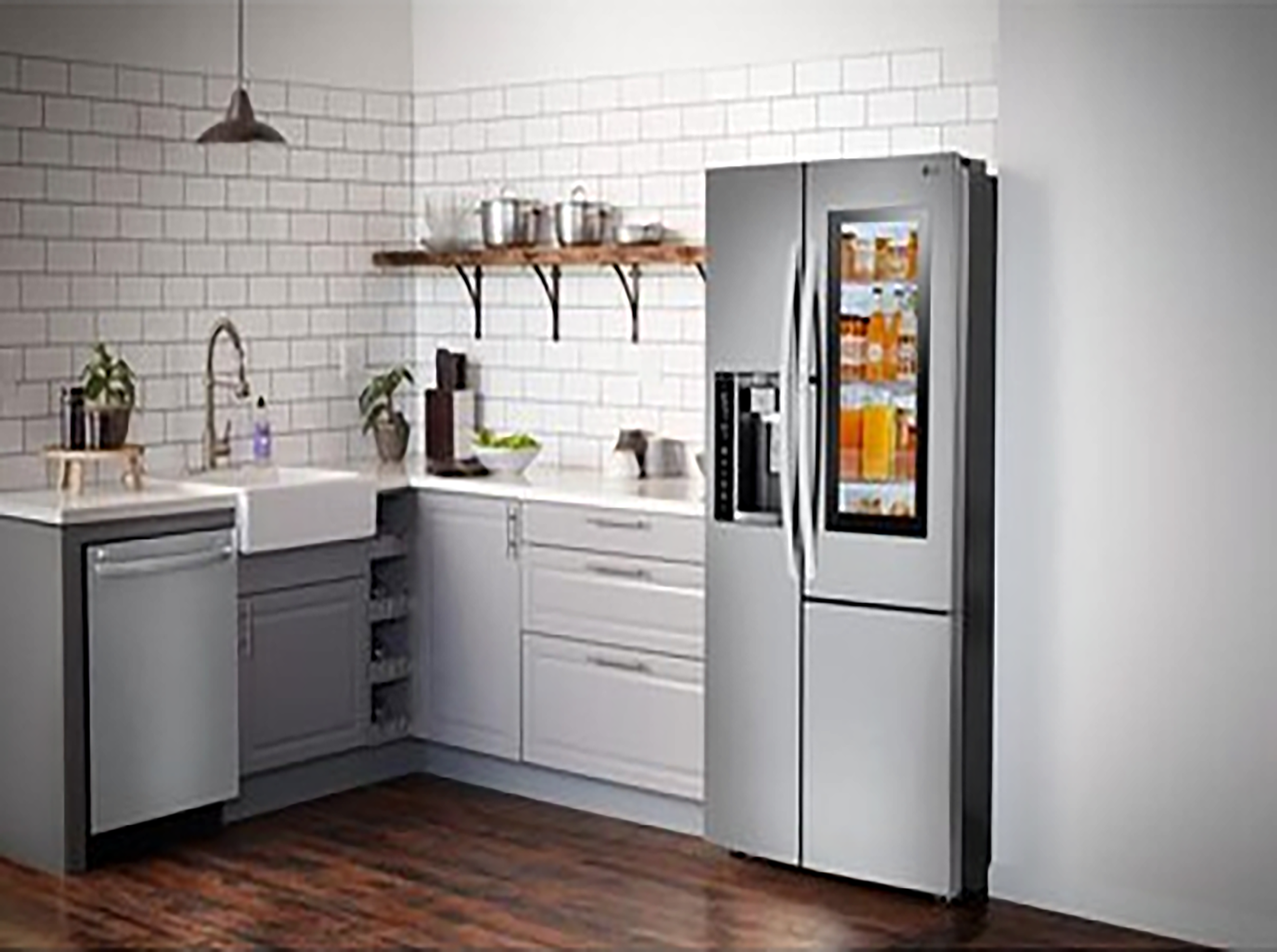 LG refrigerator for Kitchen Remodel