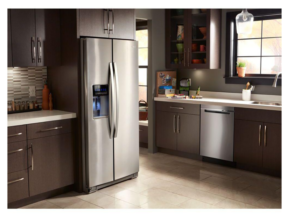 Whirpool Refrigerator for Kitchen Remodel