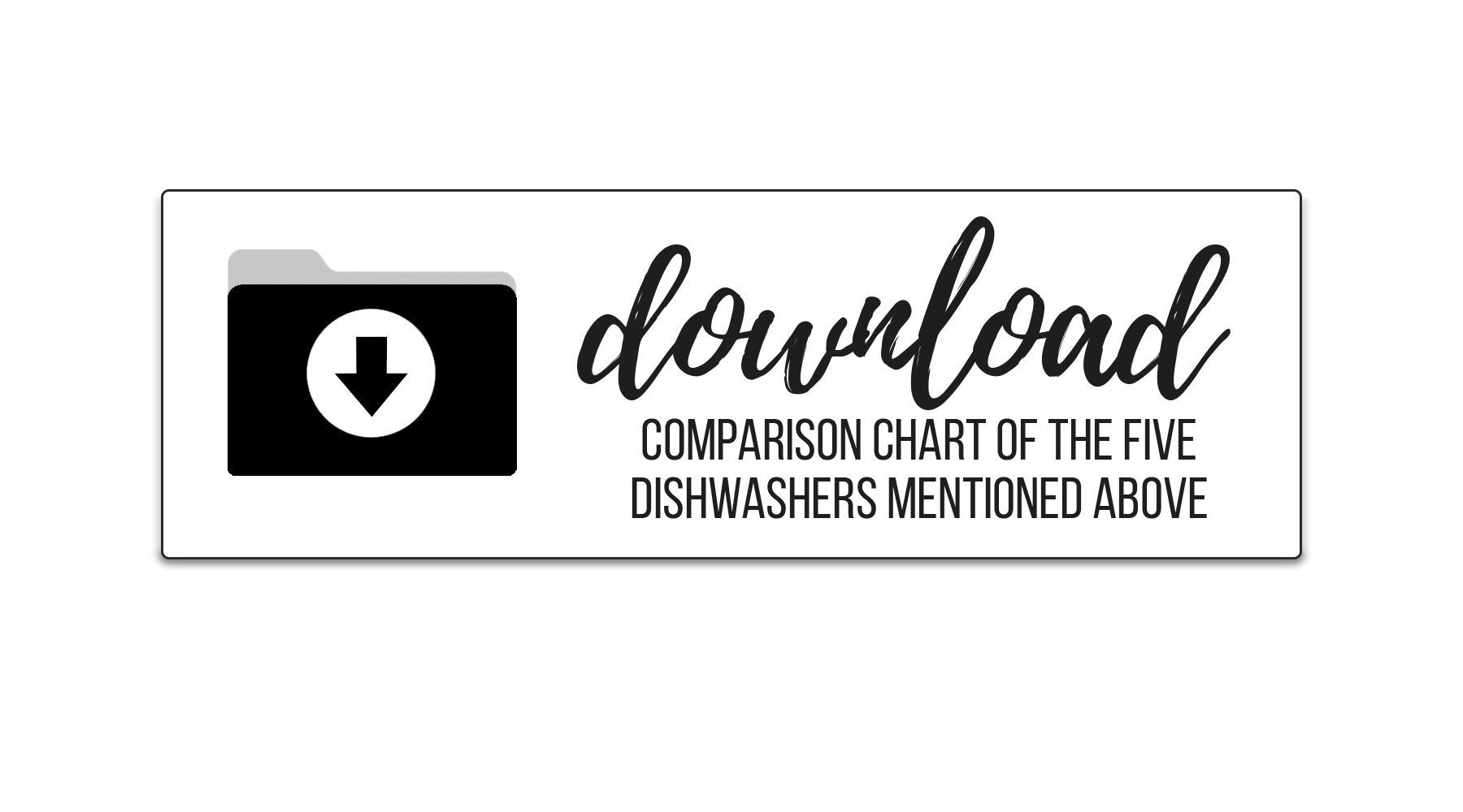 Dishwashers Button