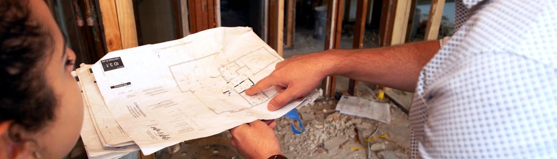 Head Designer with Plans