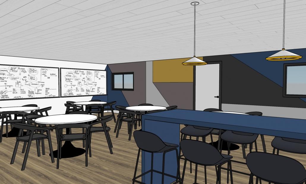 3D Rendering of Break Room 07