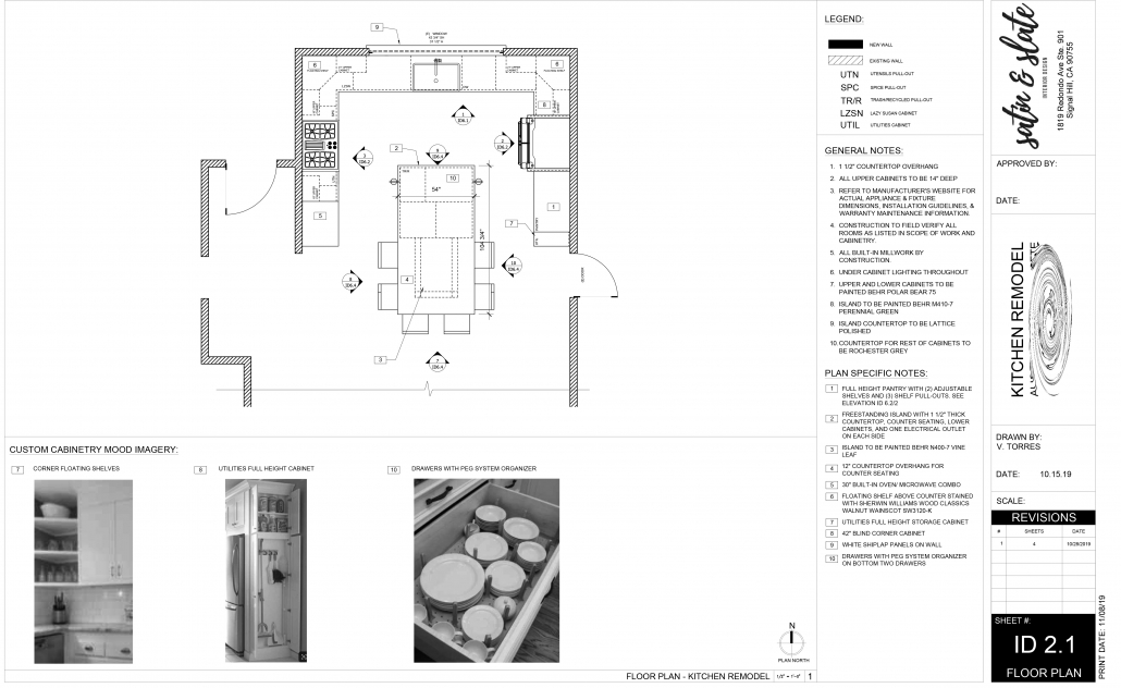 Plan with Elevations 3