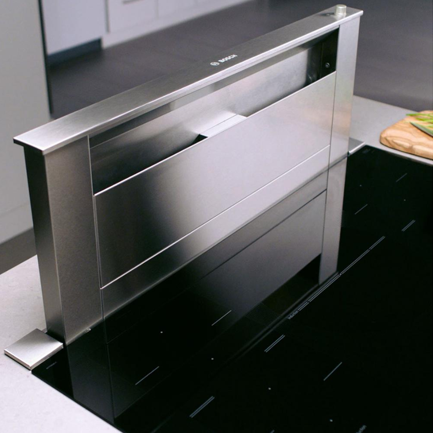 Bosch 800 Series 30 in. Telescopic Downdraft System in Stainless Steel, Blower Sold Separately