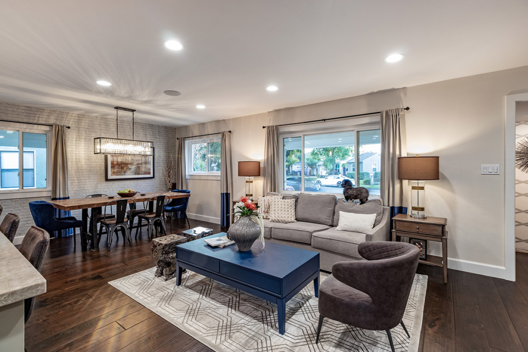 Pippen Open Concept Living & Dinning Room