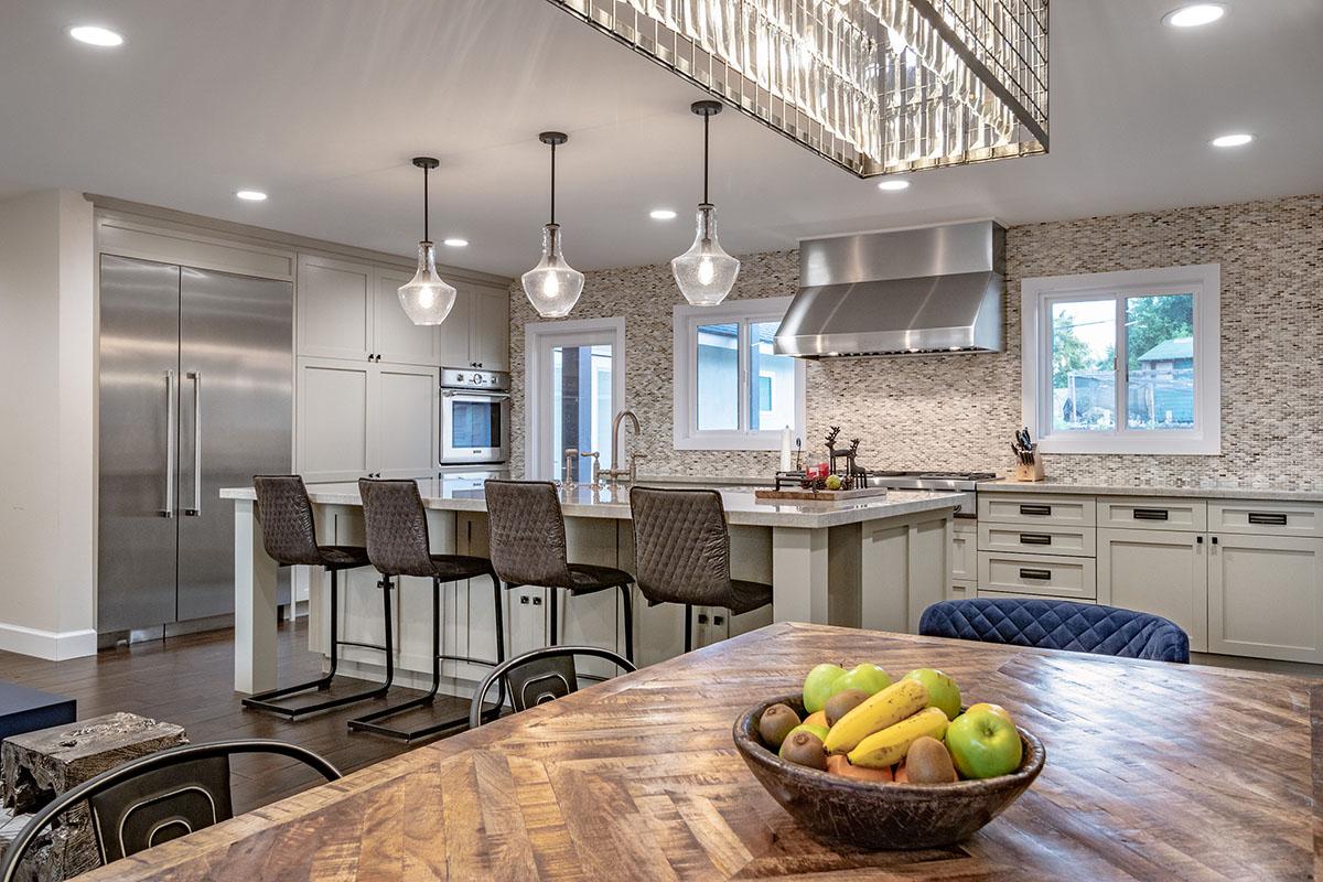 Interior Design: Pippen Open Concept Dinning & Kitchen
