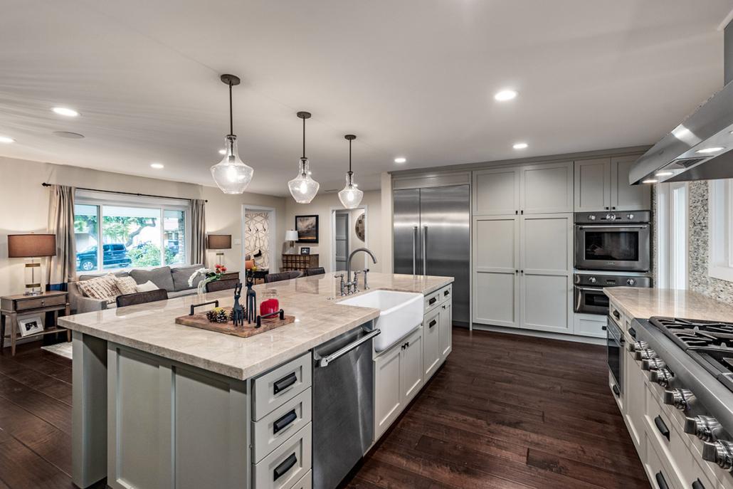 Pippen Open Concept Kitchen & Living Room