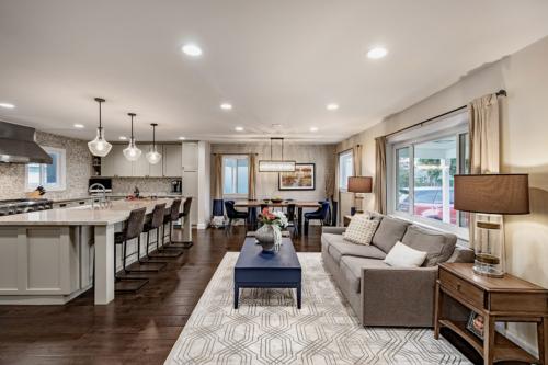 Interior Design: Pippen Open Concept Living, Dinning & Kitchen