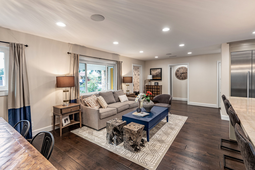 Pippen Open Concept Living Room