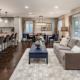 Interior Design: Pippen Kitchen and Family Room Open Concept Design