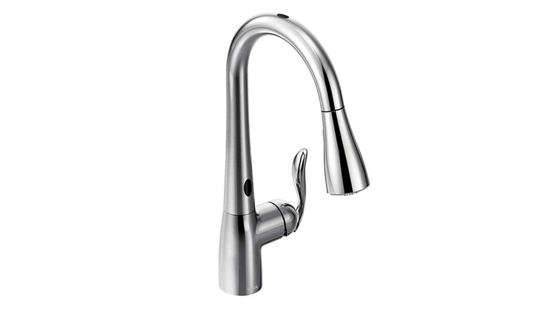 moen pull down kitchen faucets