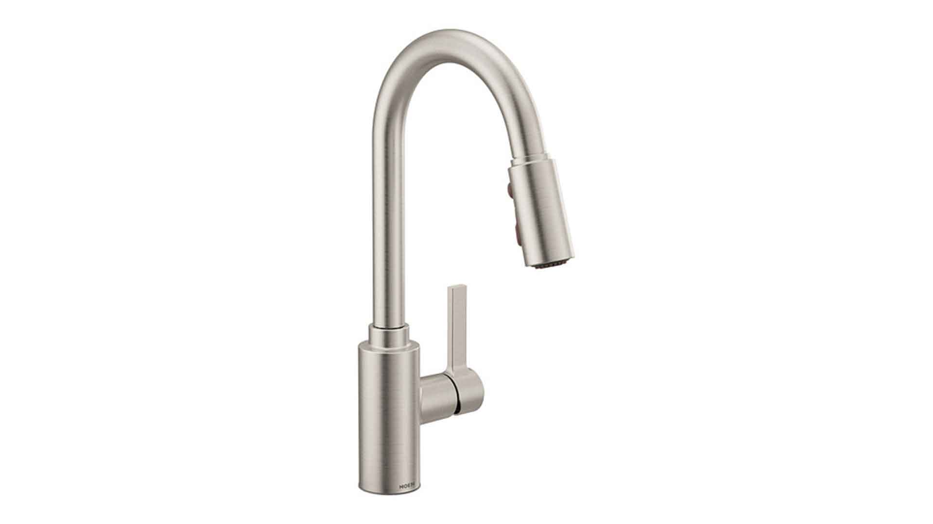 moen one handle kitchen faucets